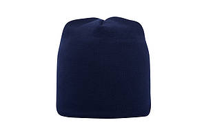 Шапка с флисовой подкладкой мужская/женская темно синяя Headwear proffesional - NA4111
