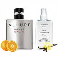 Chanel Allure Homme Sport, 110 мл