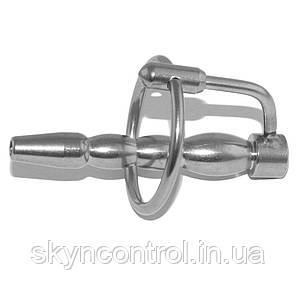 Катет для пениса с кольцом Dilator Penis Plug with Bore, фото 2
