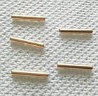 Трубочки, разделители для бижутерии, набор 10 шт., 3х40 мм, фото 2