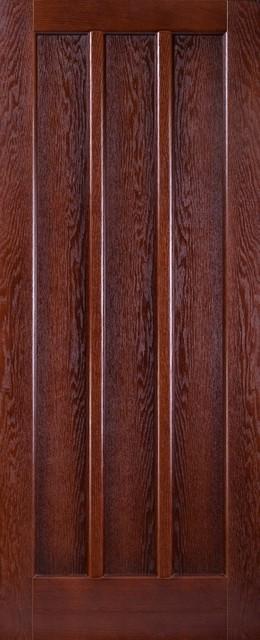Элитные межкомнатные двери Исток  - Трояна дуб тон
