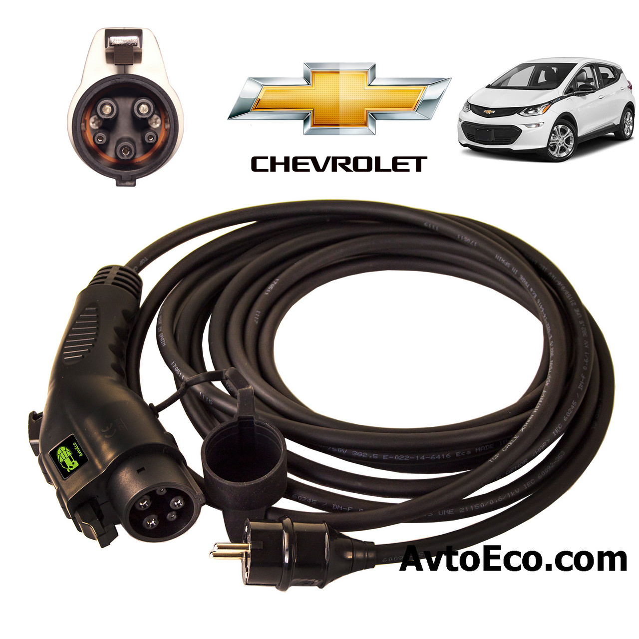 Зарядное устройство для электромобиля Chevrolet Bolt EV AutoEco J1772-16A