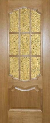 Межкомнатные двери Исток  - Престиж дуб светлый, фото 2