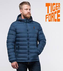 Tiger Force 50442 | Куртка мужская демисезонная темно-бирюзовая