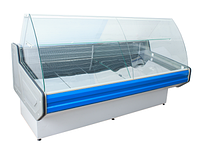 Витрина холодильная PVHS «INTEL»-1,6R (0…+5С) (полим.сталь)