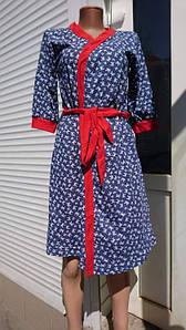 Женский комплект для кормящих мам халат и сорочка 44-54 р
