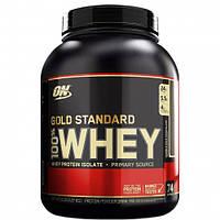 100% Whey Gold Standard 2,268 кг - банан