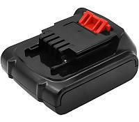 Аккумулятор PowerPlant для шуруповертов и электроинструментов BLACK&DECKER BL1514 14.4V 2000mAh