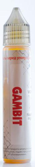 Клон премиум жидкости Gambit - 30 мл VG/PG 70/30