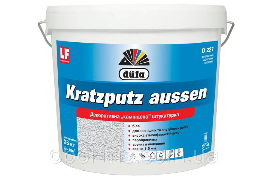 Kratzputz aussen D227 Акриловая штукатурка «барашек» Dufa