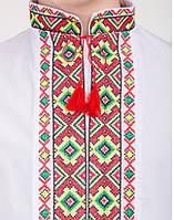 Мальчиковая вышитая сорочка с уникальным орнаментом, фото 1