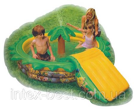 Детский надувной игровой центр Disney Intex 57445 (234x188x66 см.), фото 2