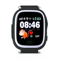 Смарт-годинник дитячий Smart Baby Watch Q100 Black (з можливістю здійснення дзвінків) (Baby Watch Q100 Black)