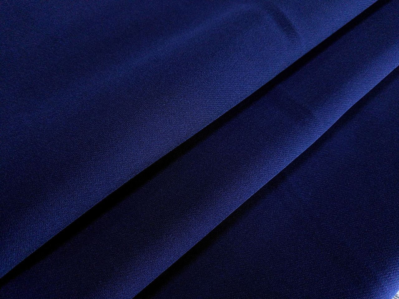 Костюмная Бианка плотная, темно-синий