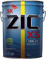 ZIC X5 10W-40 DIESEL, 20л