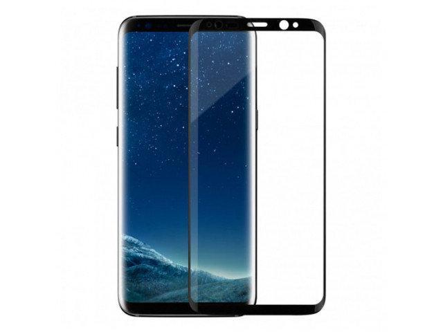 Защитное стекло Samsung S7 Egde 3D Black