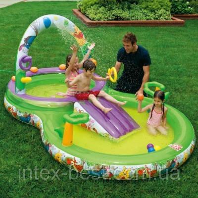 Детский надувной игровой центр Intex 57451 (297x193x135 см.), фото 2