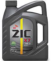 ZIC X7 10W-40 Diesel, 6л