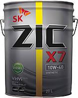 ZIC X7 10W-40 Diesel, 20л
