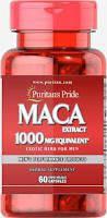 Мака перуанская  Puritan's Pride Maca 1000 mg 60 Capsules