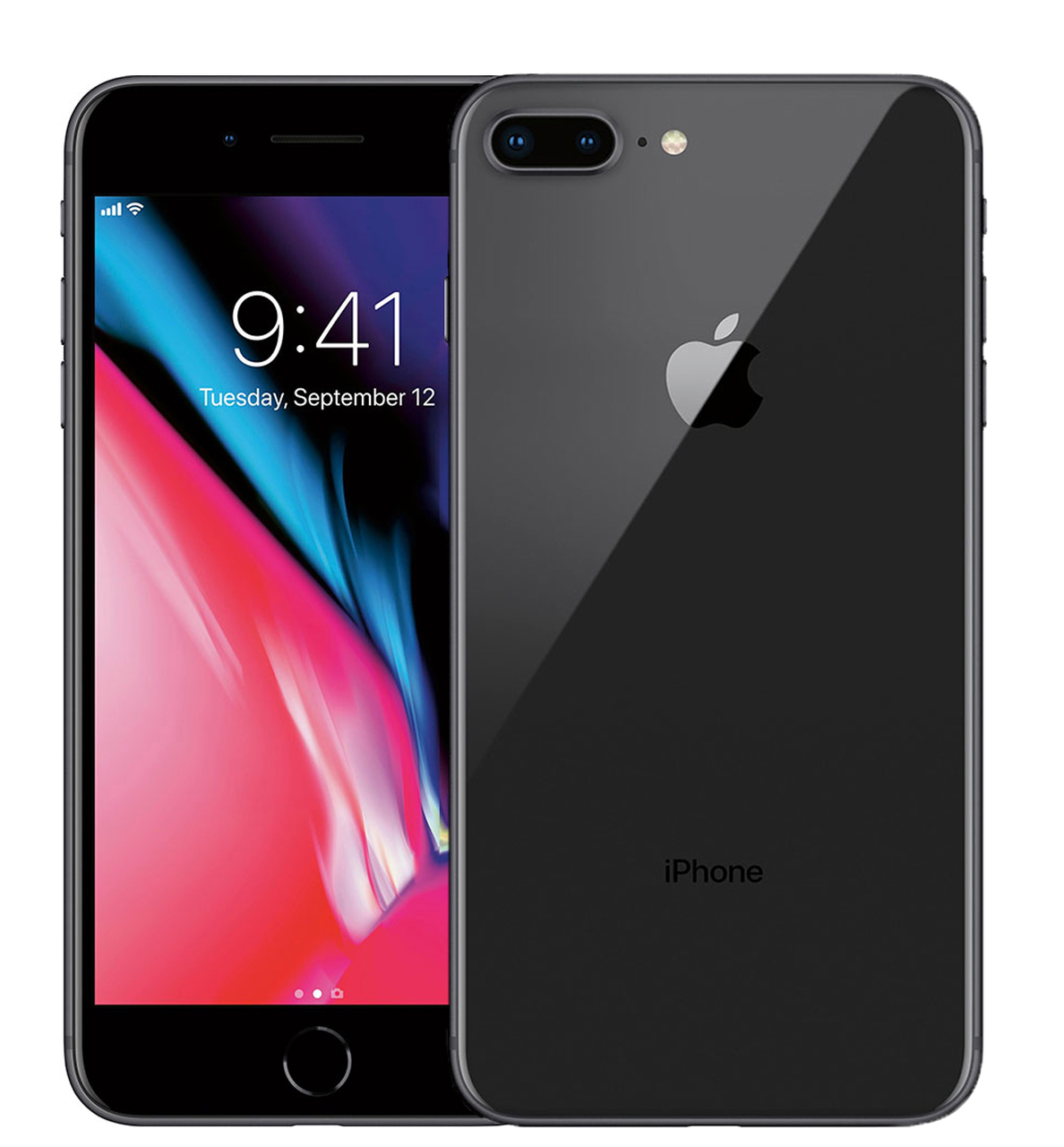 Apple iPhone 8 Plus 64Gb Space Gray (MQ8N2)