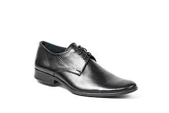 Розпродаж!!! Чоловічі шкіряні туфлі (підліткові) Остання пара 35 розмір!