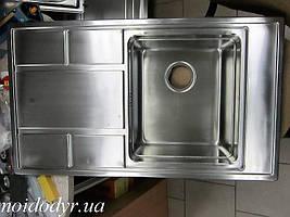 Мойка кухонная врезная из нержавеющей стали Kuchinox Buenos SKB011T
