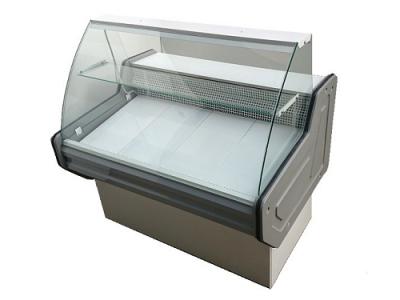 Витрина холодильная PVHSU-1,8 «INTEGRA» (нерж.сталь, с охл. боксом)