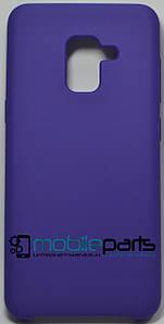 Силиконовый Чехол для Samsung Galaxy A5 2018 Silicone Case (Фиолетовый)