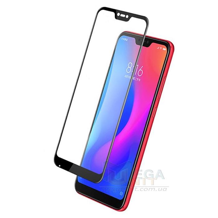 Full Cover Защитное стекло 9H (на весь экран) для Xiaomi Redmi 6 Pro / Mi A2 Lite
