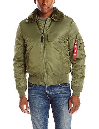 Куртка Alpha Industries B-15 Slim Fit Sage