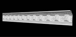 Потолочный плинтус 2м   GP-7  116х57 mm подходит для натяжных потолков