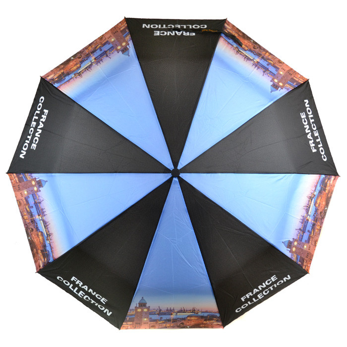 Женский полуавтоматический зонт Podium 515- антиветер