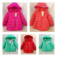 Яркая детская демисезонная куртка р. 4-6 лет, один цвет в упаковке
