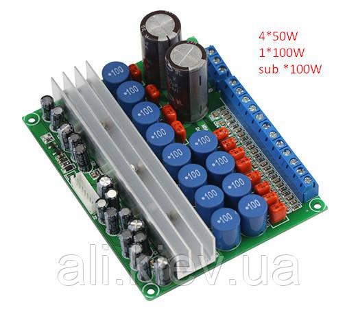 Усилитель 5.1 TPA3116 4*50 2*100Вт дом кинотеатр авто аудио система home cinema