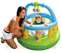 Детский надувной игровой центр Intex 48474 NP (130х104 см.)