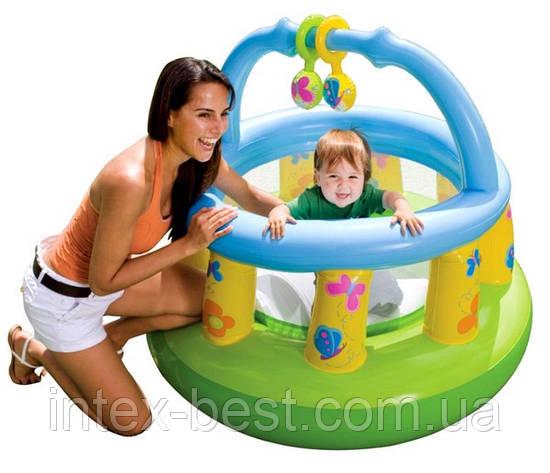 Детский надувной игровой центр Intex 48474 NP (130х104 см.), фото 2