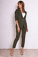 Модный женский костюм с брюками, фото 1