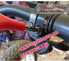 Ключ Y-образный под шестигранники 4,5,6 мм,  головки 8,10,12мм, фото 3
