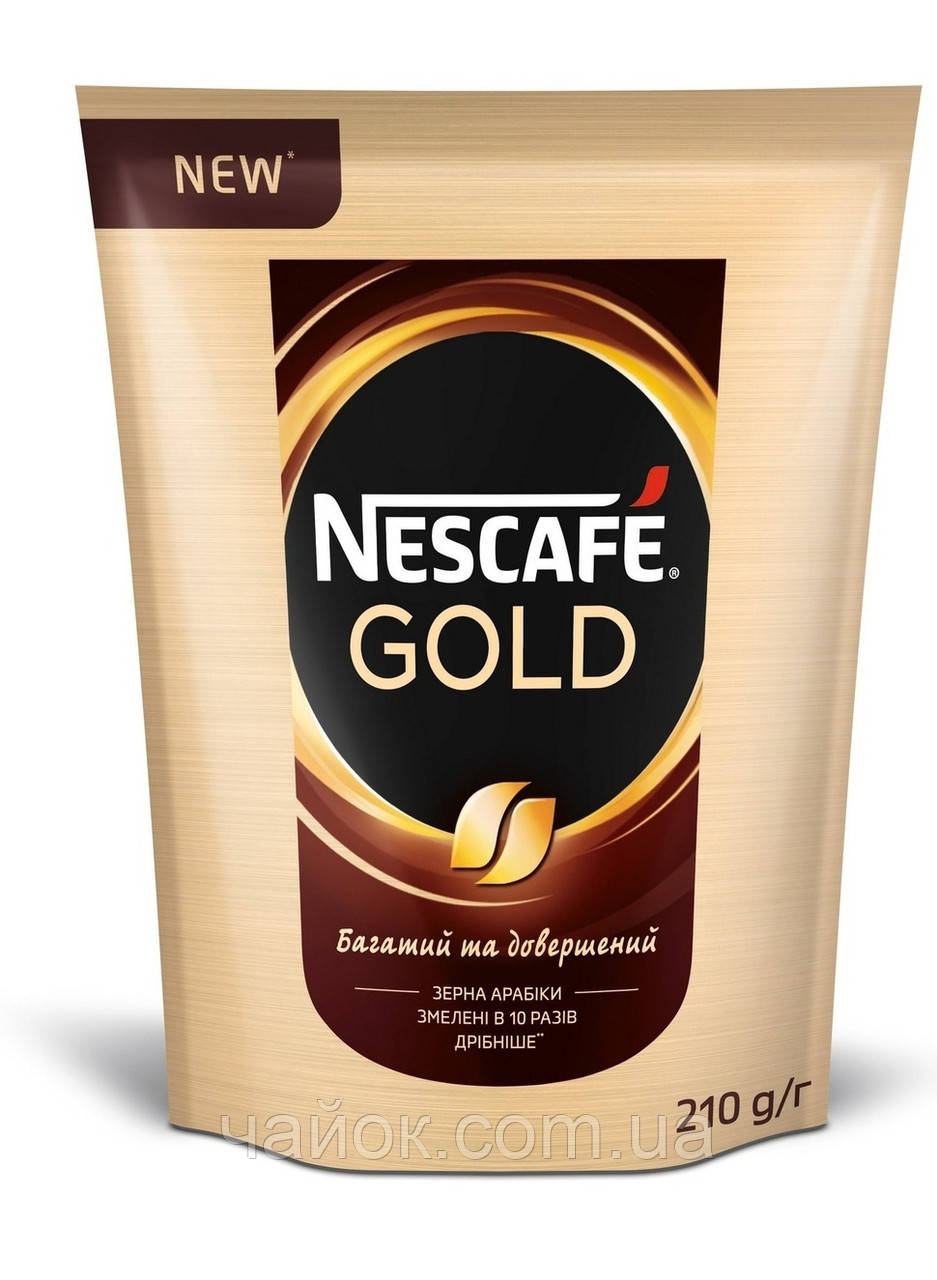 Кофе растворимый Nescafe Gold 210 гр