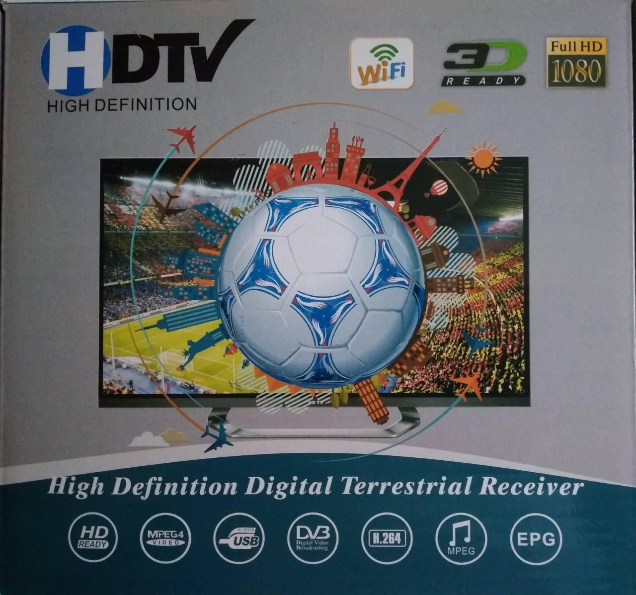 Телевизионный цифровой  приемник HD Digital DVB-T2 с WIFI