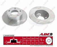 Тормозной диск,задний (245x10mm) /  AUDI A6, Audi A6 Avant (C4,C5) - ABE (C4A003ABE)