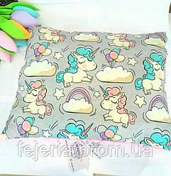 Детская подушка Единорожки