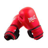 Боксерские перчатки Кожа Everlast Bazari 12OZ