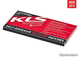 Набір самоклеючихся латок KLS 6 квадратних штук