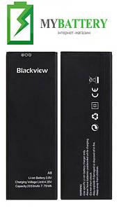 Оригинальный аккумулятор АКБ (Батарея) для Blackview A8 2050mAh 3.8V