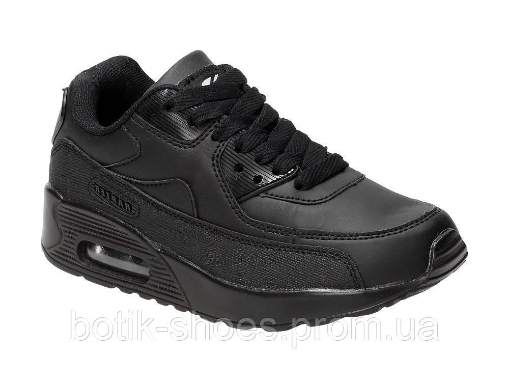 428f280d Женские черные модные кроссовки Nike Air Max 90 Найк Аир Макс 90, копия  Rapter -
