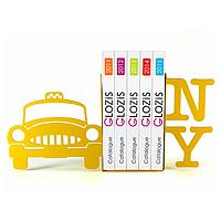 Упоры держатели ограничители для книг букенды Glozis New York G-009 30 х 20 см