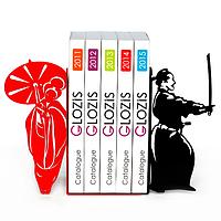 Упоры держатели ограничители для книг букенды Glozis Japan G-027 30 х 20 см