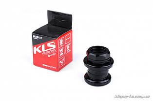 Рульова колонка KLS THS-10 threaded 1 1/8'' з різьбою чорний